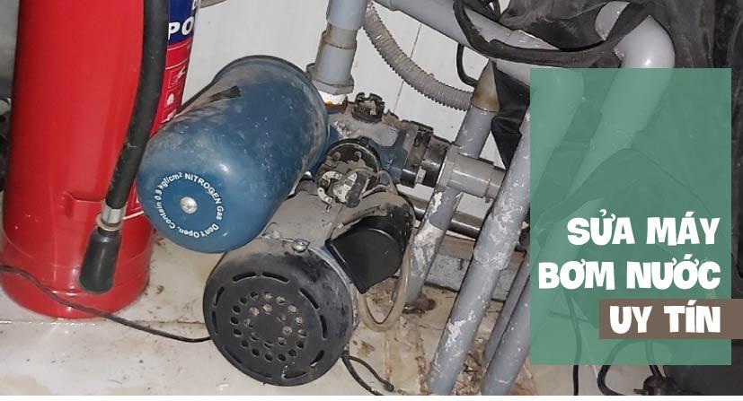 sửa máy bơm tăng áp nước