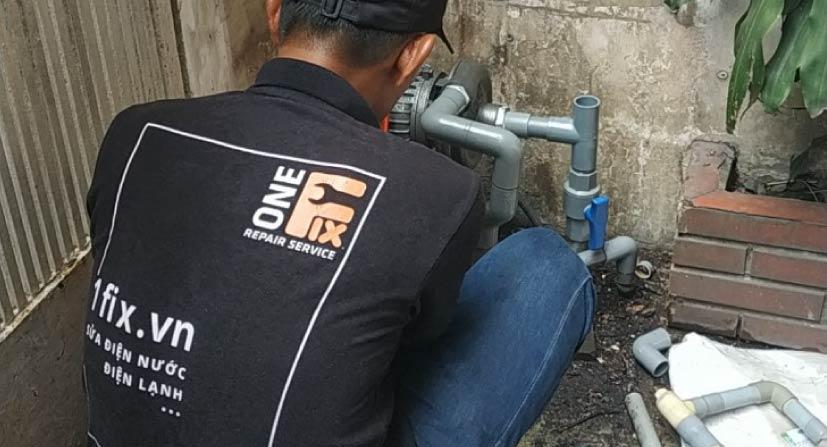 Sửa máy bơm nước tại nhà nhanh chóng