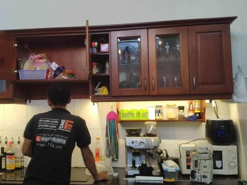 Lập kế hoạch dự án cho chiếu sáng tủ bếp
