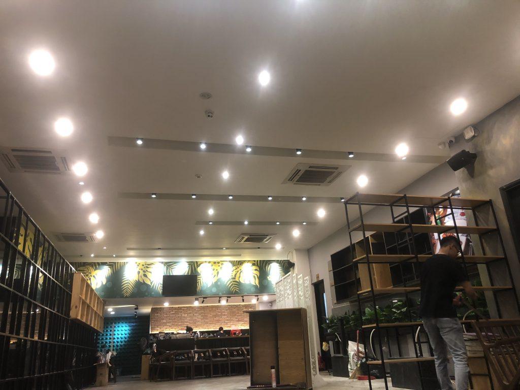 Các yếu tố cần xác định trước khi lắp bóng đèn led cho hệ thống chiếu sáng âm trần