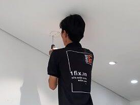 Lắp bóng đèn âm trần – lắp đặt đèn led âm trần