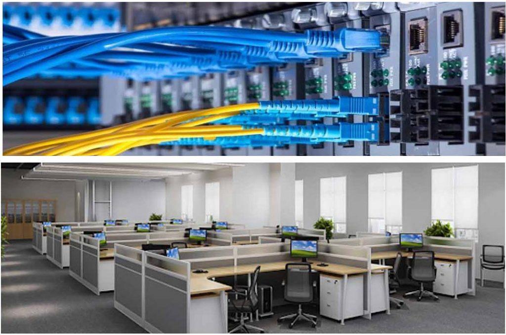 Dịch vụ thi công mạng LAN văn phòng giá cả hợp lý