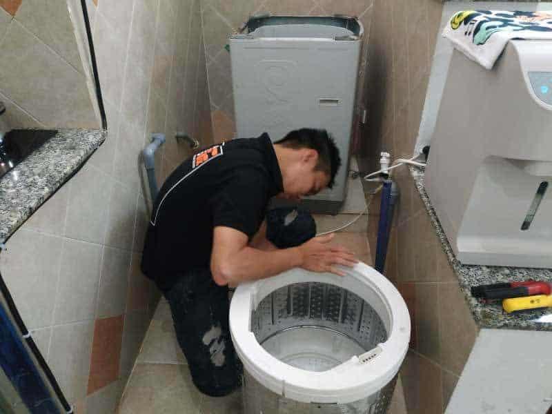 Cách lắp ống cấp nước máy giặt tại nhà
