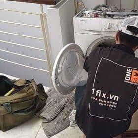Cách vệ sinh máy giặt cửa trước bằng giấm và muối nở