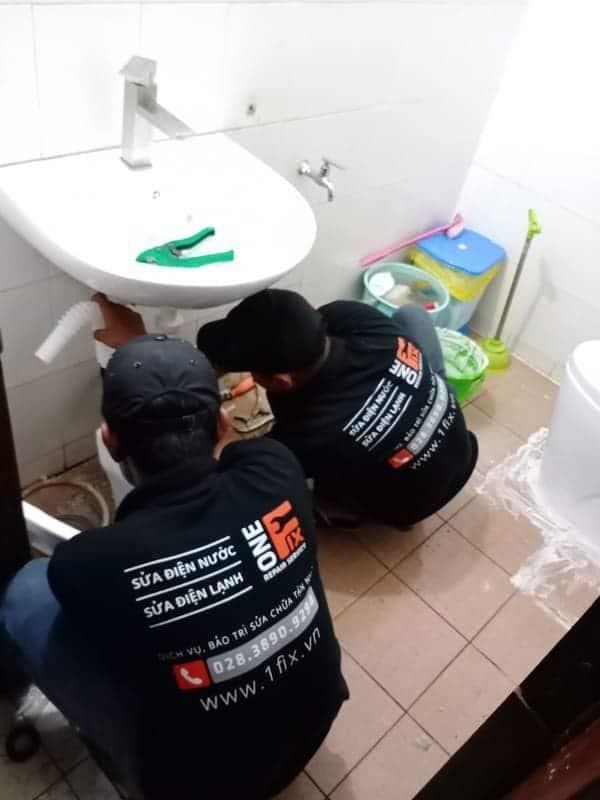 Dịch vụ thợ lắp bồn rửa mặt tại nhà giá rẻ