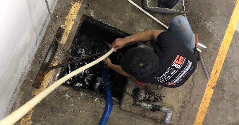 Dịch vụ vệ sinh đường ống thoát nước chuyên nghiệp