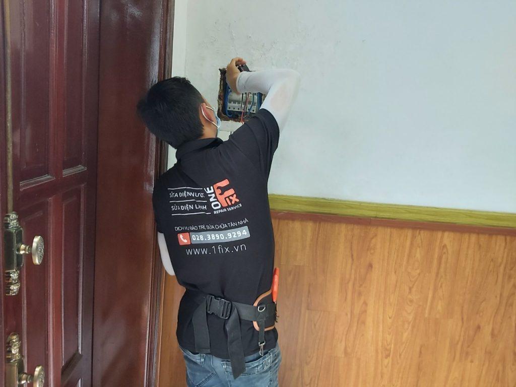 Cách dò dây điện âm tường bị chập
