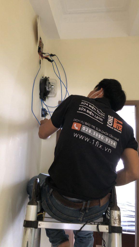 Những lưu ý khi sửa chữa điện âm tường